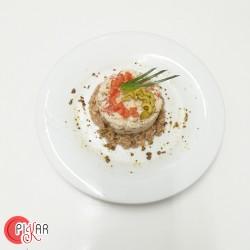 ENSALADA DE ARROZ en menú...